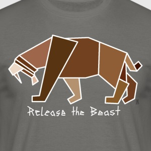 Release the Beast - Männer T-Shirt