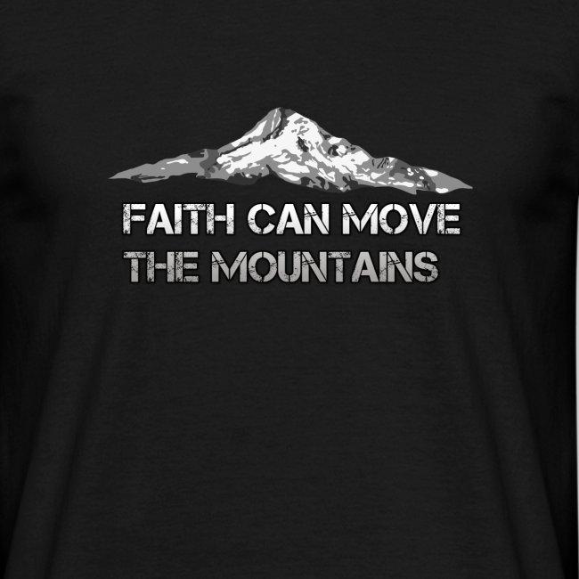 Glaube der Berge versetzt Bibelvers Matthäus 17,20