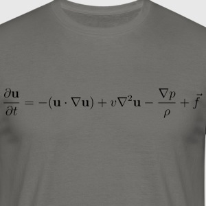 Fluid Dynamics ekvation. - T-shirt herr