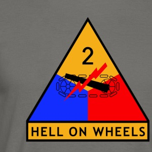 2nd_Armored_Division - T-shirt herr