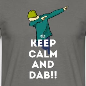 dab keep dabbing touchdown fun cool LOL football - Men's T-Shirt