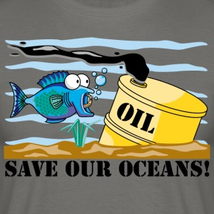 Earth Day Save Our Oceans - Men's T-Shirt