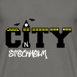 Stockholm city - Men's T-Shirt