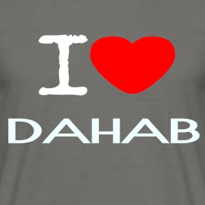 I LOVE DAHAB - Men's T-Shirt