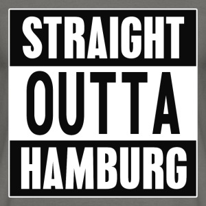Straight outta Hamburg - Men's T-Shirt
