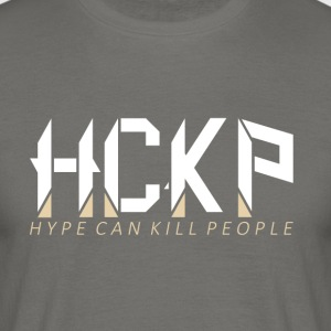 HCKp LOGO WHITE - Men's T-Shirt