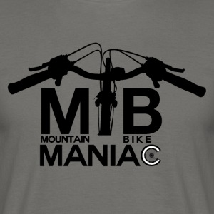 MTB Maniac - Mountainbike Passion! - Männer T-Shirt