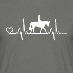 Horse - Heartbeat - Men's T-Shirt