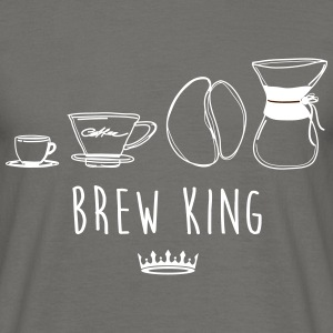 BREW KING - Mannen T-shirt