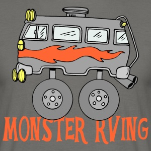 Monster RVing - T-skjorte for menn
