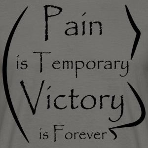 Banner Design Pain Victory - Men's T-Shirt