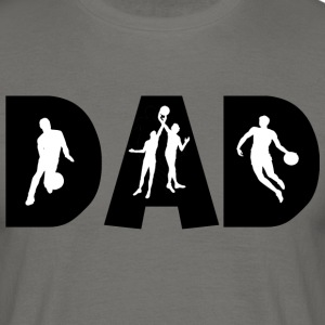 Basketball DAD - Männer T-Shirt