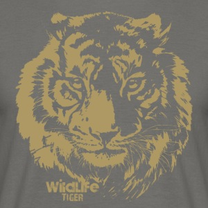 WildLife · Tiger - Männer T-Shirt