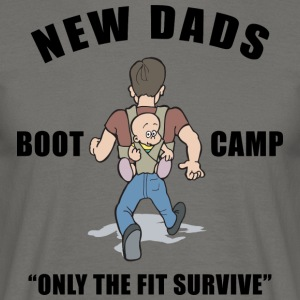 New Dad Boot Camp Only The Fit overleve - T-skjorte for menn