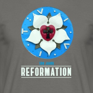 luther rose Reformation 500 Kirchentag Thesen bete - Männer T-Shirt