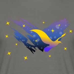 Space Atlas Ladies tee Gele Ster - Mannen T-shirt