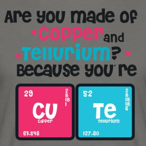 Youre Cute - Copper - Tellurium CUTE - Men's T-Shirt