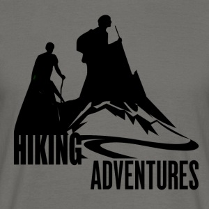 Hiking Adventures - Wanderlust - Männer T-Shirt