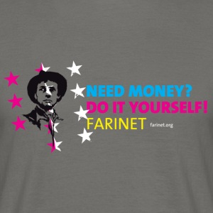 Farinet DIY Horizontal - Men's T-Shirt