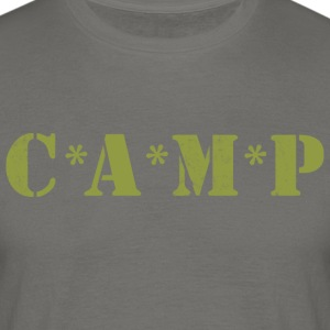 Camp Army - T-skjorte for menn