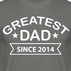 Greatest Dad siden - T-skjorte for menn