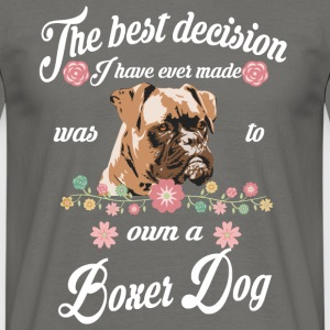 Boxer Dog - T-shirt Homme