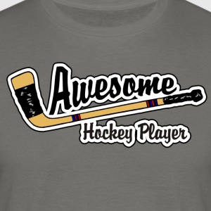 Awesome Hockey Player - Herre-T-shirt