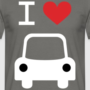 I love Car - Men's T-Shirt