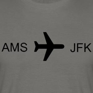 Flying to New York! - Mannen T-shirt