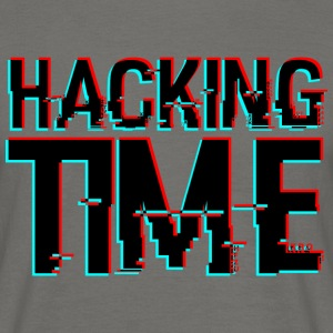 HACKING TIME HACKER - Männer T-Shirt