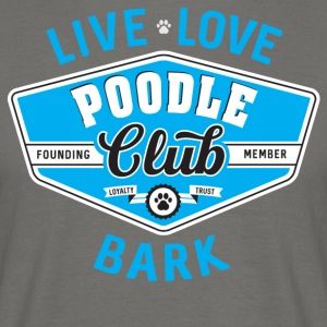 Poodle Club - Herre-T-shirt
