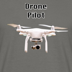 pilote drone - T-shirt Homme