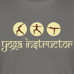 yoga Instruktør - T-skjorte for menn