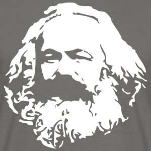 Karl Marx stencil - Men's T-Shirt