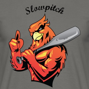slowpitch - T-shirt herr