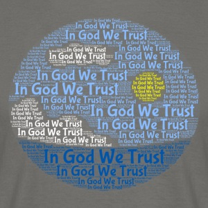 In God We Trust med Tagul Style - Herre-T-shirt