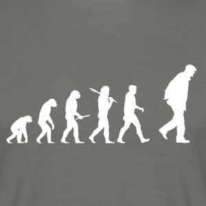 Evolution Grandpa! - Men's T-Shirt