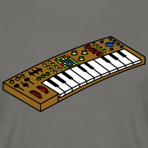synthesizer - Mannen T-shirt