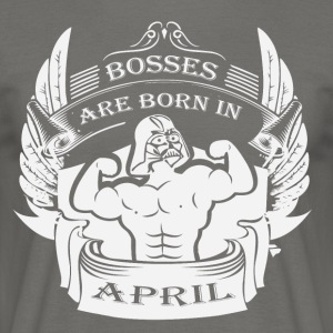 Bosses föds i april - T-shirt herr