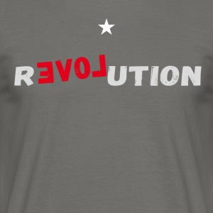 revolution star Love demonstartion - Men's T-Shirt