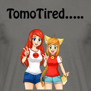 TomoTired ..... - Männer T-Shirt