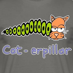 dessiné cat-erpillar main - T-shirt Homme