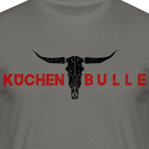 Küchenbulle rouge - T-shirt Homme