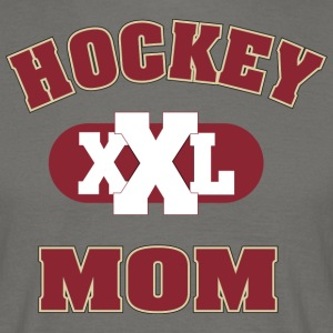 hockey MOM - Mannen T-shirt
