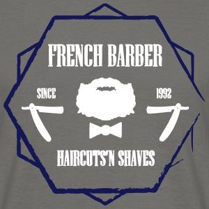 FRENCH BARBER - T-skjorte for menn