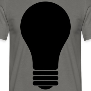 Lamp - Mannen T-shirt
