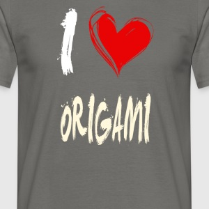 J'aime Origami - T-shirt Homme