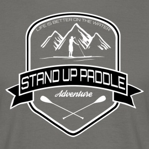 Stand Up Paddle Adventure * Men Edition * - Men's T-Shirt