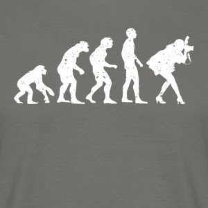 EVOLUTION PHOTOGRAPHE! - T-shirt Homme