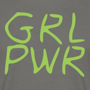 Girlpower - Männer T-Shirt